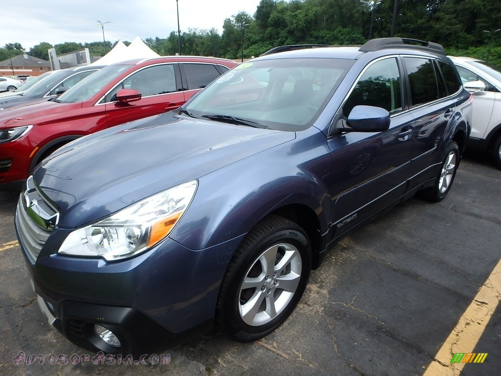 2014 Outback 2.5i Limited - Twilight Blue Metallic / Black photo #1