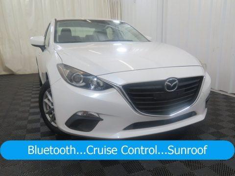 Snowflake White Pearl 2014 Mazda MAZDA3 i Touring 4 Door