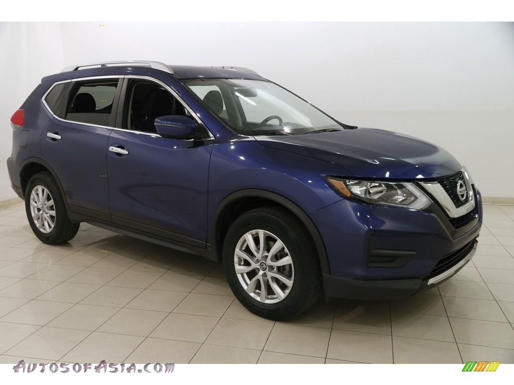 2017 Rogue SV AWD - Caspian Blue / Charcoal photo #1
