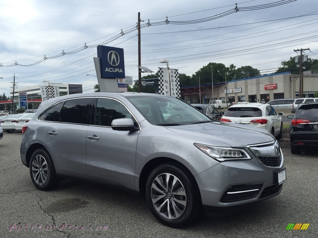 2016 MDX SH-AWD Technology - Lunar Silver Metallic / Ebony photo #1