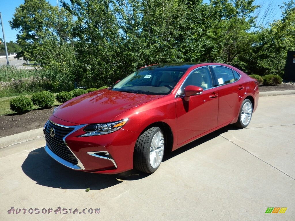 2018 ES 350 - Matador Red Mica / Parchment photo #1