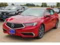 Acura TLX V6 Sedan San Marino Red photo #3