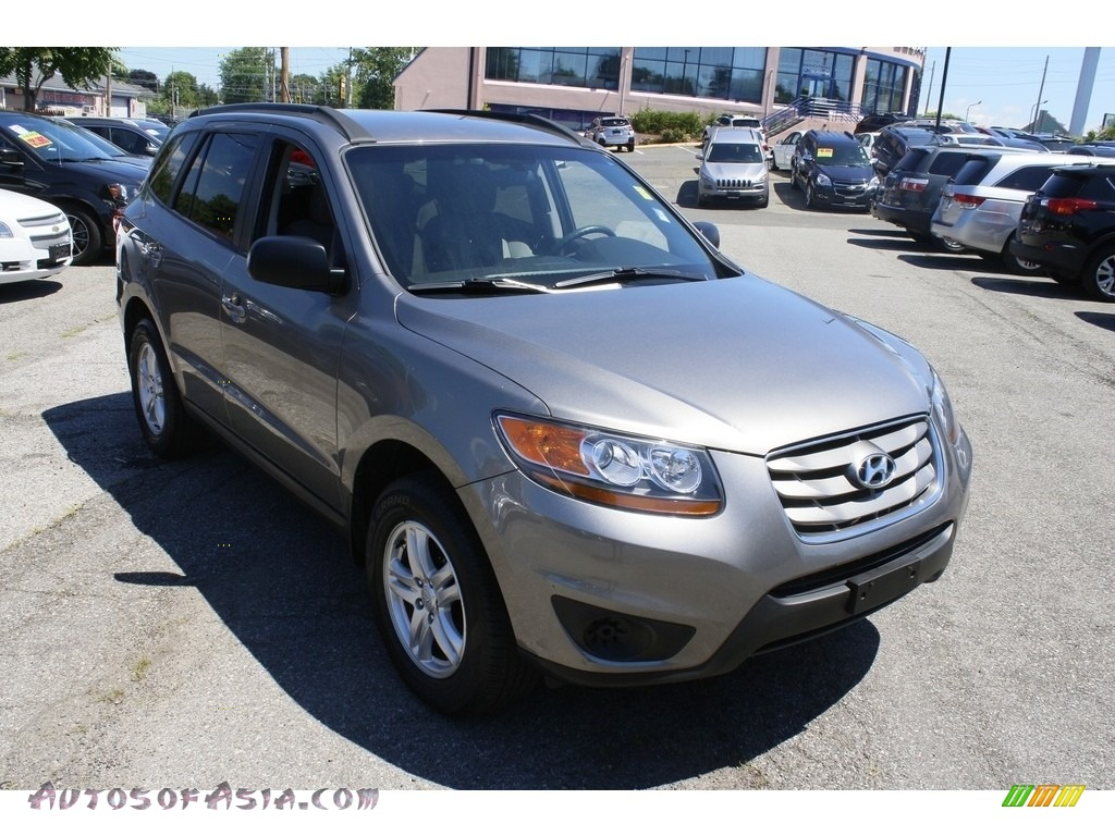 2011 Santa Fe GLS AWD - Mineral Gray / Gray photo #1