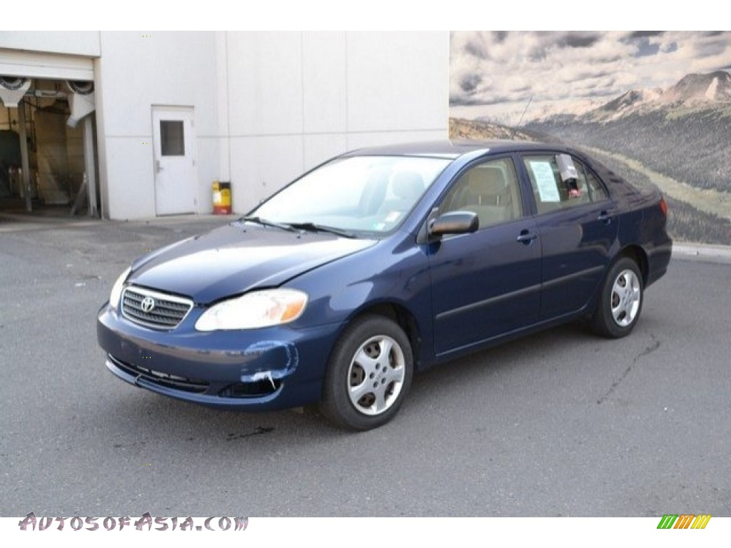 2007 Corolla CE - Speedway Blue Metallic / Beige photo #2