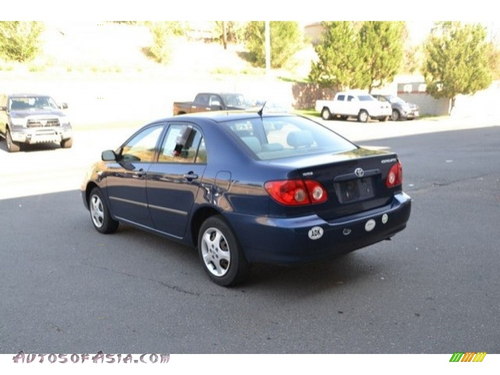 2007 Corolla CE - Speedway Blue Metallic / Beige photo #4