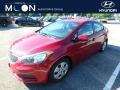 Kia Forte LX Crimson Red photo #1