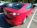 Kia Forte LX Crimson Red photo #4