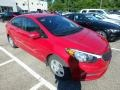 Kia Forte LX Crimson Red photo #5
