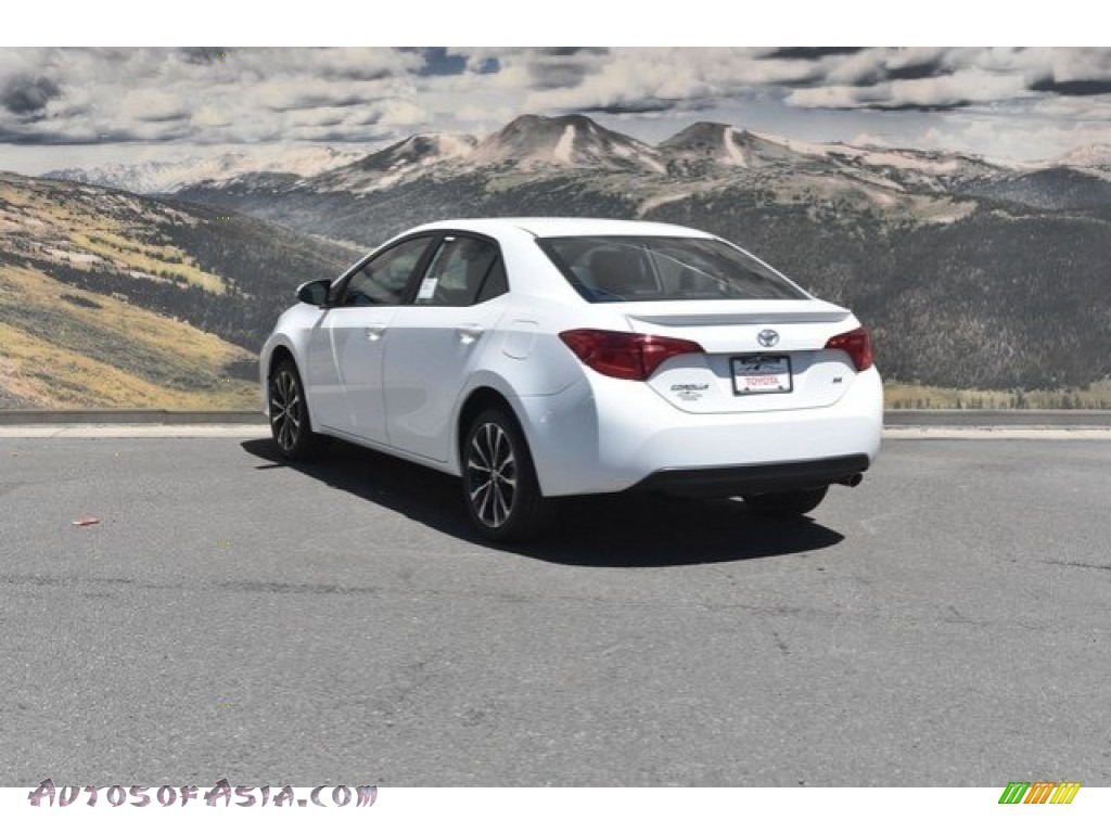 2019 Corolla SE - Super White / Black photo #3