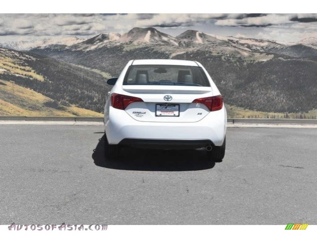 2019 Corolla SE - Super White / Black photo #4