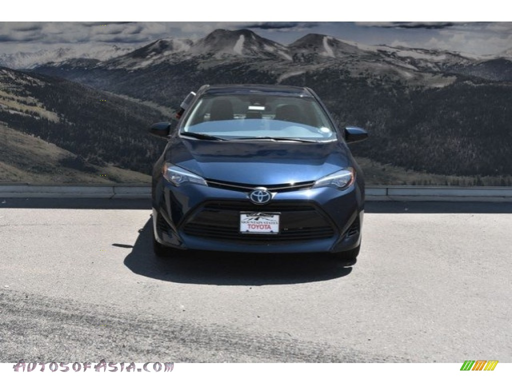 2019 Corolla LE - Galactic Aqua Mica / Ash/Dark Gray photo #2