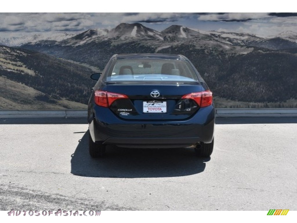 2019 Corolla LE - Galactic Aqua Mica / Ash/Dark Gray photo #4
