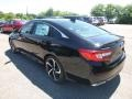 Honda Accord Sport Sedan Crystal Black Pearl photo #2