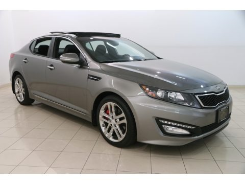 Titanium Silver Metallic 2013 Kia Optima SX