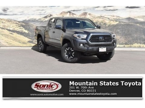 Magnetic Gray Metallic 2018 Toyota Tacoma TRD Off Road Double Cab 4x4