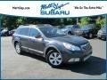 Subaru Outback 2.5i Premium Wagon Graphite Gray Metallic photo #1