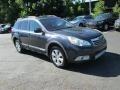 Subaru Outback 2.5i Premium Wagon Graphite Gray Metallic photo #4