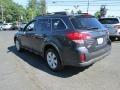 Subaru Outback 2.5i Premium Wagon Graphite Gray Metallic photo #8