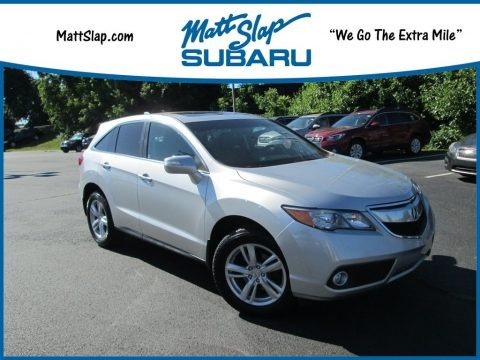 Forged Silver Metallic 2014 Acura RDX Technology