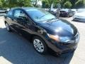 Honda Civic LX Coupe Crystal Black Pearl photo #7