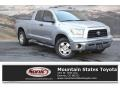 Toyota Tundra SR5 Double Cab 4x4 Silver Sky Metallic photo #1