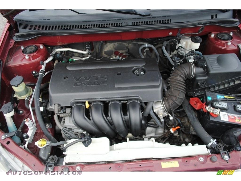 2006 Corolla S - Impulse Red Pearl / Dark Charcoal photo #22