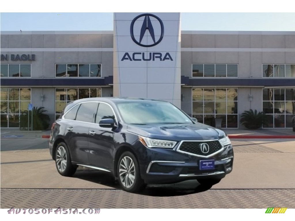 Fathom Blue Pearl / Parchment Acura MDX Technology