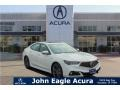 Acura TLX A-Spec Sedan Platinum White Pearl photo #1