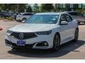Acura TLX A-Spec Sedan Platinum White Pearl photo #3