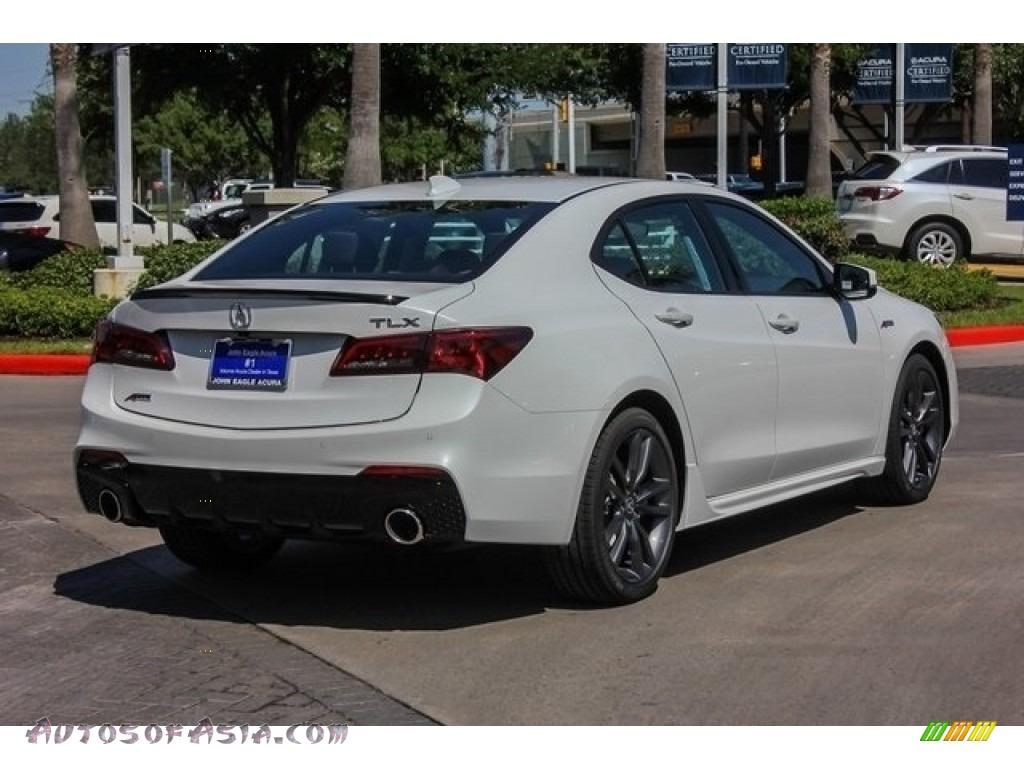 2019 TLX A-Spec Sedan - Platinum White Pearl / Ebony photo #7