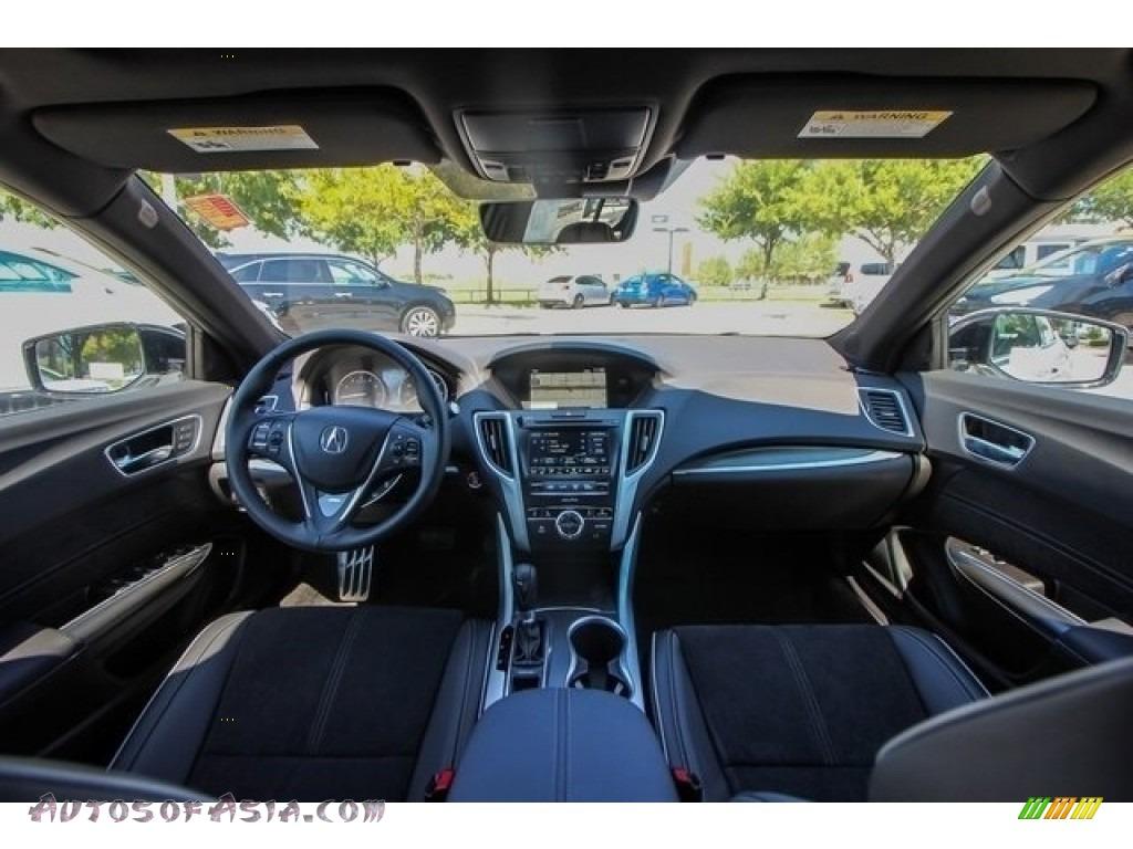 2019 TLX A-Spec Sedan - Platinum White Pearl / Ebony photo #9