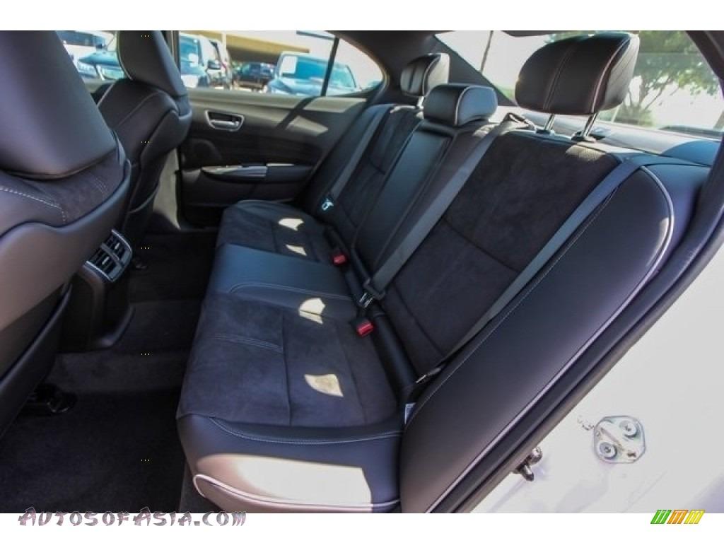 2019 TLX A-Spec Sedan - Platinum White Pearl / Ebony photo #18
