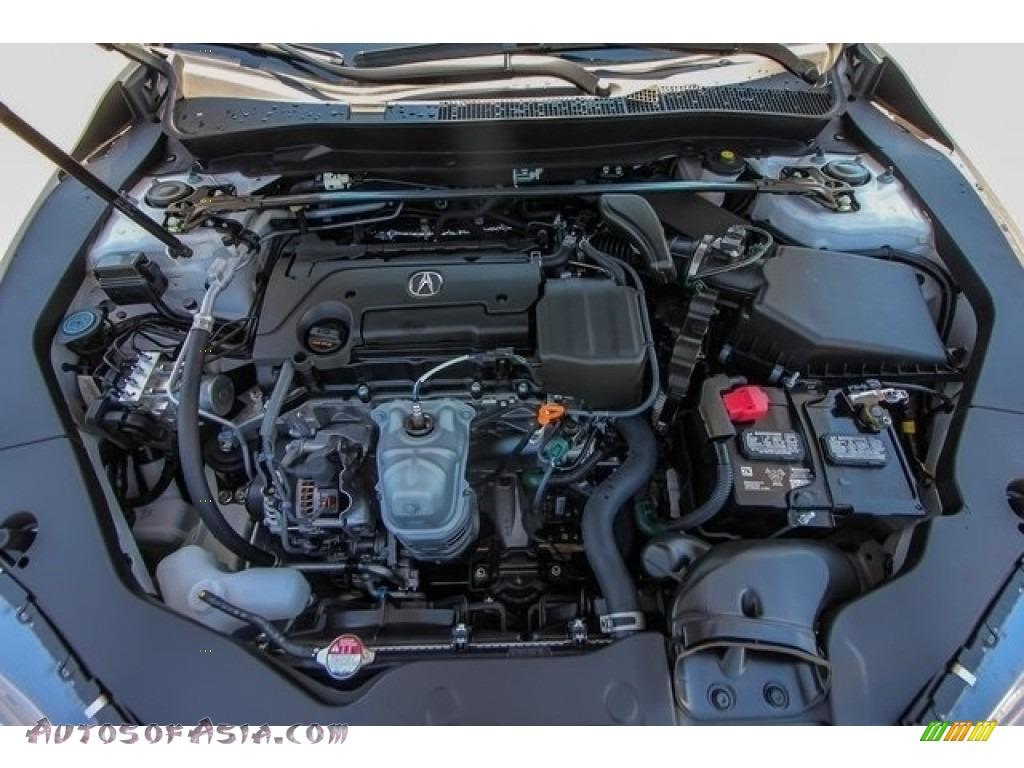 2019 TLX A-Spec Sedan - Platinum White Pearl / Ebony photo #23