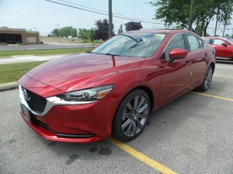 Soul Red Crystal Metallic 2018 Mazda Mazda6 Grand Touring