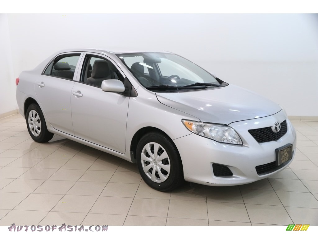 2009 Corolla LE - Classic Silver Metallic / Ash photo #1