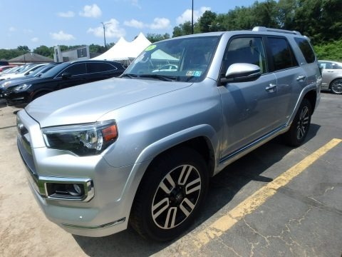 Classic Silver Metallic 2016 Toyota 4Runner Limited 4x4