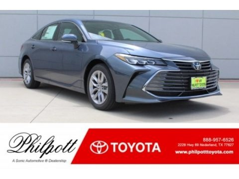 Harbor Gray Metallic 2019 Toyota Avalon XLE