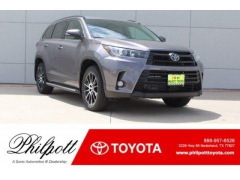 Predawn Gray Mica 2018 Toyota Highlander XLE