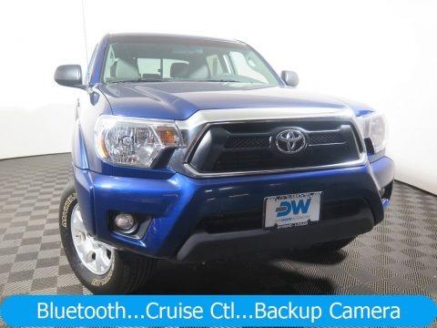 Blue Ribbon Metallic 2015 Toyota Tacoma V6 Double Cab 4x4