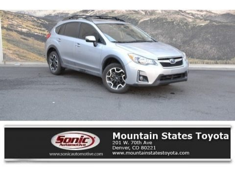 Ice Silver Metallic 2016 Subaru Crosstrek 2.0i Limited
