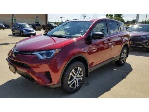 Ruby Flare Pearl 2018 Toyota RAV4 LE