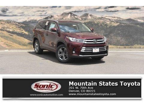 Ooh La La Rouge Mica 2018 Toyota Highlander Limited AWD
