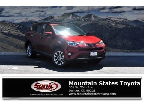 Ruby Flare Pearl 2018 Toyota RAV4 Limited AWD