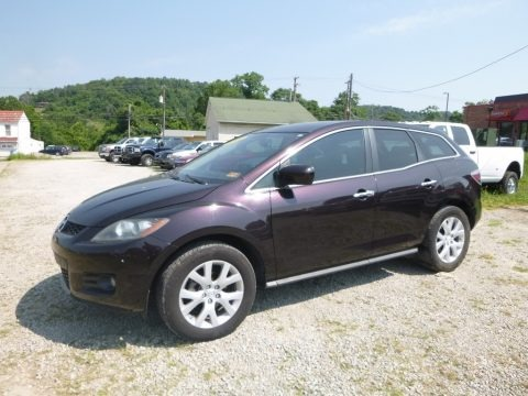 Black Cherry Mica 2008 Mazda CX-7 Grand Touring