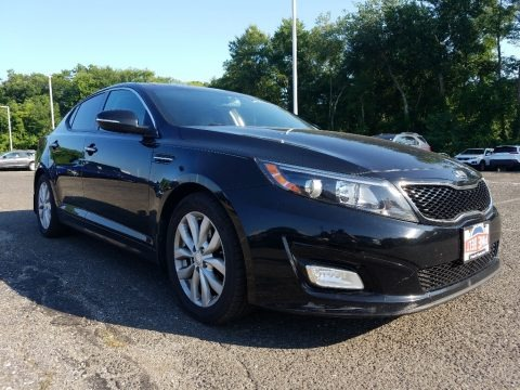 Ebony Black 2014 Kia Optima EX