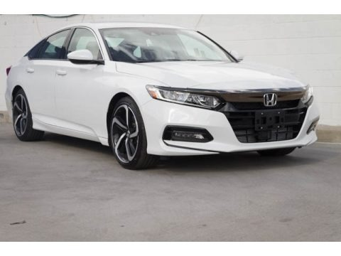 Platinum White Pearl 2018 Honda Accord Sport Sedan