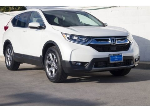 White Diamond Pearl 2018 Honda CR-V EX-L