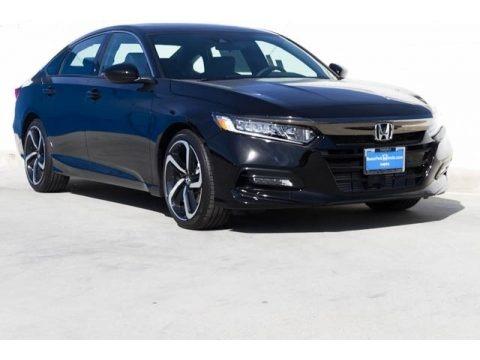 Crystal Black Pearl 2018 Honda Accord Sport Sedan