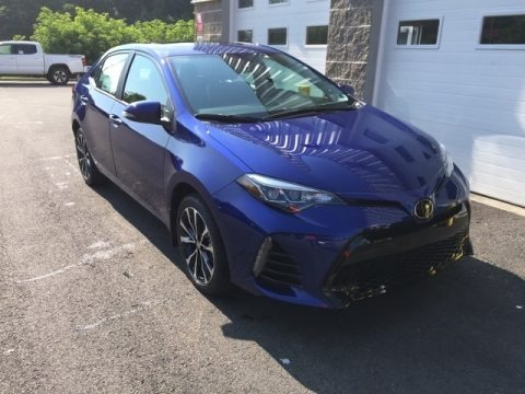 Blue Crush Metallic 2019 Toyota Corolla SE