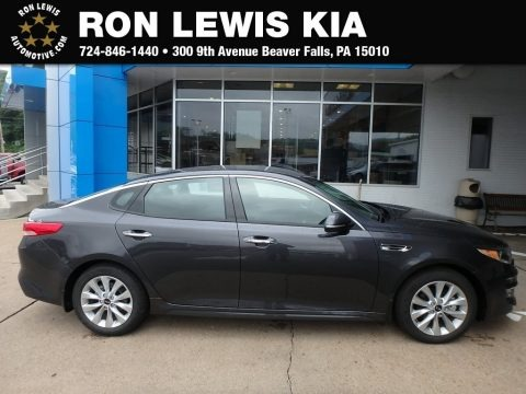 Platinum Graphite 2018 Kia Optima EX